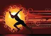 Running,Sport,Athlete,Sun,Men,Silhouette,Muscular Build,Backgrounds,Vector,Starting Line,Sunset,Sunlight,Field Event,Back Lit,Traditional Sport,Vector Backgrounds,Sports Symbols/Metaphors,Competition,Sports And Fitness,Illustrations And Vector Art