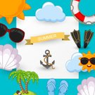 Sand,Scribble,,Tourist,Sign,Sea,Summer,Illustration,Relaxation,Island,2015,Seascape,Decoration,Season,eps10,60161,Backgrounds,Vacations,Sunglasses,Beach,Abstract,Sandal,Fun,Vector,Label