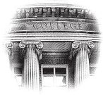 University,Architectural Column,Built Structure,Engraving,Engraved Image,Education,Building Exterior,Roman,Classical Greek,Architecture,Government,Cross Hatching,Classic,Facade,Capital,No People,Scratchboard,Corinthian,Financial Building,Capital Letter,Home Finances,Stone Material,Illustrations And Vector Art,Industry,Government