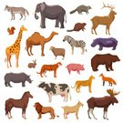 Concepts & Topics,Squirrel,Tiger,Horse,81352,Tropical Climate,268399,Goat,Fox,Deer,Bear,Farm,Safari,Animal,Cute,Zoology,Ornate,Cow,Cartoon,Tropical Rainforest,Collection,Animals In The Wild,No People,Safari Animals,Illustration,Nature,Lioness,Zoo,Camel,Icon Set,Computer Icon,Safari,Symbol,2015,Rabbit - Animal,Raccoon,Isolated,Elk,Aubusson,Pattern,Insignia,White Color,Wolf,Rhinoceros,Forest,Elephant,Wild Boar,Large,Concepts,Zebra,Exoticism,Large,Giraffe,Lion - Feline,Vector,Pig,Single Object,Design,Design Element,Domestic Animals