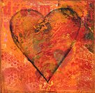 Collage,Heart Shape,Art,Love,Paintings,I Love You,Dreamlike,Valentine's Day - Holiday,Romance,Red,Colors,Acrylic Painting,Orange Color,Symbol,Ilustration,Feelings And Emotions,Visual Art,Arts And Entertainment,Arts Backgrounds,Art Product,Painted Image,Multi Colored,Concepts And Ideas