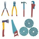 Hair Curlers,Spanner,Carpentry,Equipment,Work Tool,Silhouette,Construction Industry,Hammer,Screwdriver,Collection,Wood - Material,Illustration,Carpenter,House,Icon Set,Computer Icon,Symbol,Circular Saw,2015,Pliers,Electric Saw,Level,White Color,Hand Saw,Gardening Equipment,City Of Tool,Wrench,Pruning Shears,Backgrounds,Serrated,Repairing,Axe,Vector,Working,Axe
