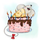Candy,Stage Set,Animation - Moving Image,Drink,Birthday Cake,Background,Ideas,Milk Bottle,Animal,Birthday Present,Holiday - Event,Cartoon,Illustration,Humor,Postcard,Birthday,Inspiration,2015,Food,Cheese,Decoration,Dreamlike,Kids - Charity Organization,Gift,Rodent,Comic Book,Backgrounds,Dessert,Paintings,Cake,Inspiration,Rat,Dream,Milk,Fun,Vector,Group Of Objects,60500,Computer Mouse