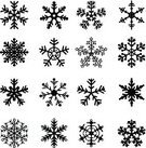 Snowflake,Black Color,White,Vector,Symbol,Snow,Holiday,Computer Icon,Crystal,Winter,January,Ice,Backgrounds,Set,Art,Computer Graphic,Weather,Christmas Decoration,Painted Image,Design Element,Abstract,Design,Image,Star Shape,Celebration,Shape,Frozen,Ilustration,Cold - Termperature,Decoration,Variation,Nature,Illustrations And Vector Art,December,Winter,Holiday Symbols,Part Of,Complexity,Vector Ornaments,Holidays And Celebrations