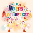 Anniversary,Computer Graphics,Cupid,Love,Angel,Wedding,Celebration,Template,Togetherness,Men,Annual Event,Illustration,Wife,Husband,Greeting,Symbol,Memories,2015,Computer Graphic,Romance,Wishing,Decoration,Adult,Typescript,Vector,Women,Label