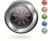 Spider Web,Symbol,Computer Icon,Blue,Metal,Trapped,Silver - Metal,Orange Color,Red,Circle,Elegance,Green Color,Halloween,Shock,Shadow,Digitally Generated Image,Grid,Spooky,Focus on Shadow,Empty,halloween decoration,White Background,Metallic,Horror,Silver Colored,Blank,Curve