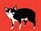 Boston Terrier,Dog,Cartoon,Friendship,Doodle,Dog Bone,Vector,Ilustration,Pencil Drawing,Pets,Illustrations And Vector Art,Dogs,Ornate,Concepts And Ideas,Animal,Humor,Animals And Pets,Feelings And Emotions,Vector Cartoons,Clip Art,Emotion,Animal Bone,Fun,Red,Cute