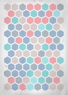 Mosaic,Hexagon,Geometric Shape,Ornate,No People,Scratched,Creativity,Illustration,2015,Backdrop,Pattern,Backgrounds,Abstract,Vector