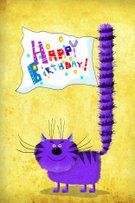 Sand,81352,Art And Craft,Banner,Single Word,Art,Domestic Cat,Sign,Animal,Cute,Painted Image,Greeting Card,Friendship,Celebration,Placard,Striped,Surprise,Empty,Cartoon,Congratulating,Multi Colored,No People,Color Gradient,Illustration,One Animal,Blank,Greeting,Image,Birthday,Banner - Sign,Art Product,2015,Happiness,Purple,Copy Space,Vertical,Adult,Tail,Fluffy,Flag,Paintings,Exoticism,Long,whiskered,Standing,Fun,Yellow,Single Object,Drawing - Art Product,Digitally Generated Image,Party - Social Event,Empty,Text