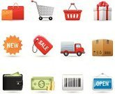 Symbol,Computer Icon,Icon Set,Shopping,Shopping Cart,Store,Gift,Currency,Sale,New,E-commerce,Box - Container,Retail,Truck,Shipping,Bag,Delivering,Label,Vector,Shopping Bag,Package,Interface Icons,Buying,Coin,Set,Transportation,Wallet,Bar Code,Paper Currency,Shopping Basket,Open,Dollar,Gift Box,Ilustration,Delivery Van,Modern,Single Object,Open Sign,Dollar Sign,Design Element,Close-up,No People