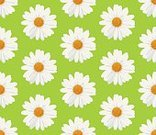 Wallpaper,Pattern,Flower,Daisy,Backgrounds,Repetition,Ornate,Blossom,Illustration,Floral Pattern,No People,Vector,Marguerite - Daisy,2015,Seamless Pattern
