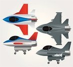 Airplane,Fighter Plane,General Dynamics F-16 Falcon,Air Force,Military Airplane,Army,Missile,Air,Airport,Directly Above,Cute,Military,Supersonic Airplane,Flying,Travel Locations,Air Travel,Transportation,Vector Icons,Illustrations And Vector Art,Mode of Transport,Exploding,Transportation,Side View,Sky,Travel