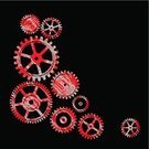 Sprocket,Gear,Automated,Wheel,Machine Part,Engine,Vector Backgrounds,Industry,Retail/Service Industry,Heavy Industry,Metal,Industry,gearing,Illustrations And Vector Art