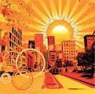 City,Grunge,Dirty,Summer,Urban Scene,Sun,Car,Backgrounds,Street,Vector,Heat - Temperature,Traffic,Urban Skyline,People,House,Tree,Orange Color,Symbol,Sunset,Road Sign,Sunlight,Sky,Arrow Symbol,Skyscraper,Circle,Chaos,Concrete,Land Vehicle,Window,Town Square,Square,Architecture And Buildings,Transportation,Illustrations And Vector Art