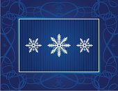 Holiday,Snowflake,Christmas,Snow,Christmas Card,Symbol,Vector,Pattern,Backgrounds,Design,Blue,Holidays And Celebrations,Nature Symbols/Metaphors,Christmas,Vector Backgrounds,Nature,Illustrations And Vector Art,Copy Space,Color Image,Horizontal,Glowing