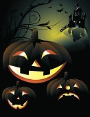 Pumpkin,Halloween,Jack O' Lantern,Spooky,haunted house,Hill,Poster,Horror,Bat - Animal,Mansion,Lantern,Backgrounds,Illuminated,Witch,Ghost,Dusk,Moon,Monster,Dark,Light - Natural Phenomenon,Night,No People,Bending,Facial Expression,Symbol,Animal,Vector,Castle,Shock,Star Shape,Glowing,Flying,Curled Up,Silhouette,Heap,Anthropomorphic,Autumn,Black Color,Evil,October,Yellow,Shiny,Branch,Vertical,Laughing,Tree,Shadow,Cemetery,Moonlight,Twig,Design,Back Lit,Season,House