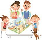 Life,Large,Large,Built Structure,Friendship,Aspirations,Construction Industry,Apartment,Design,Building - Activity,Parent,Family,Pattern,New,Old,Space,Change,Buying,Child,Moving House,Illustration,Vector,2015,House - TV Show,Business Finance and Industry