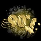 Sequin,Shiny,Glitter,Party - Social Event,Gold,years,Gold Colored,1990s Style,Backdrop,Disco,Celebration,Vector,Poster,Greeting Card,Flyer,Cardboard,Backgrounds