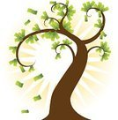 Money Tree,Currency,Tree,Savings,Growth,Making Money,Finance,Sun,Investment,Vector,Wealth,Nature,Backgrounds,Art,Perfection,Awe,Plant,Cute,Branch,Bringing Home The Bacon,Ornate,Computer Graphic,Design,Disbelief,Elegance,Symbol,Image,Clip Art,Paper Currency,Ilustration,Business Symbols/Metaphors,Illustrations And Vector Art,Business,Curled Up,Concepts And Ideas