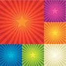 Exploding,Star - Space,Backgrounds,Sunbeam,Color Image,Star Shape,Green Color,Blue,Illuminated,Red,Orange Color,Purple,Vector,Vitality,Shiny,Variation,Light - Natural Phenomenon,Scroll Shape,Ilustration,Beige,Vector Backgrounds,Vibrant Color,Illustrations And Vector Art
