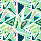 Geometric Shape,No People,Illustration,Shape,2015,Pattern,Seamless Pattern,Confusion,Vector,Triangle Shape,Design,Green Color