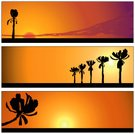 Desert,Sunset,Hawaii Islands,Palm Tree,scape,Beach,Urban Skyline,City,Vector,Tropical Climate,Land,Tree,Computer Graphic,Backgrounds,Silhouette,Night,Summer,Landscape,Sun,Style,Orange Color,Scenics,Farm,Ilustration,Yellow,Sea,Plain,Brown,Bird,Art Title,12 O'Clock,Red,Shadow,Heat - Temperature,Dusk,Illustrations And Vector Art,Colors,Outdoors,Flying