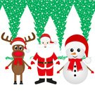 Characters,Background,Deer,Animal Nose,Animal Wildlife,Animal,Holiday - Event,Celebration Event,Cold Temperature,Horned,Remote,New Year's Eve,Christmas,Cheerful,Men,Cap,Illustration,Fairy Tale,Humor,Mustache,Cap,2015,Santa Hat,Happiness,Snowman,Winter,Red,New Year,Adult,Forest,Hat,Scarf,Backgrounds,Snow,Grandfather,Beard,Nose,Santa Claus,Fun,Vector,Human Nose