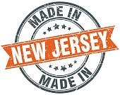 Made In,Cut Out,Retro Styled,Skill,Grunge,New Jersey,Jersey - England,Rubber Stamp,Distressed,New,Sign,Making,Old-fashioned,Eraser,Template,Industry,Illustration,Rubber,Business Finance and Industry,2015,Circle,Manufacturing,Insignia,Distressed,Seal - Stamp,Award Ribbon,Modern,Vector,Label,Orange Color,Jersey Fabric,Textured,Badge,Gray,White Color,White Background