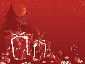Christmas,Christmas Present,Christmas Tree,Full Moon,Gift,Red Background,Abstract,Gift Box,Design,Backgrounds,Christmas Ornament,Snow,Christmas Decoration,No People,Star Shape,Tree,Spotted,Snowflake,Red,Single Flower,Horizontal,Design Element,Winter,Candid,Copy Space,Night,Pattern,Ilustration,Ornate,Celebration,Decoration,Moon,Christmas,Holidays And Celebrations,National Holiday,December,Moon Surface,Arts And Entertainment,Arts Backgrounds,New Year's,Vector,Season,Art,Holiday,Greeting