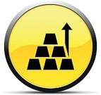 Simplicity,Symbol,Sign,Business,Arrow Symbol,Digitally Generated Image,Metal Ore,Computer Icon,Ingot,Illustration,Vector,Stacking,2015,Gold Price,Design Element,268399,Business Finance and Industry