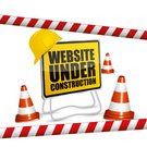 Road,Traffic,Orange Color,Web Page,Vector,Plastic,Computer Monitor,Website Under Construction,Construction Industry,Working,Timber,Panel,Sign,customizable,Metal Stud