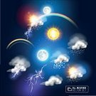 Forecast,Concepts & Topics,Concepts,Symbol,Environment,Transparent,Climate,Season,Summer,Winter,Thunderstorm,Rainbow,Snow,Illustration,Forecasting,No People,Vector,Meteorology,2015,Infographic,widget,weather icons