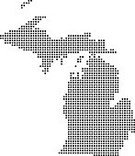 State,Symbol,North America,Design,Map,USA,Black Color,White Color,Spotted,Silhouette,Michigan,Cut Out,Illustration,No People,Vector,Travel,Single Line,Cartography,White Background,2015,Cartography