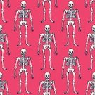 People,Science,Standing,Halloween,Pattern,Backgrounds,Biology,Ornate,Abstract,Femur,Illustration,Vector,Anatomy,Backdrop,Clavicle,Scapula,Seamless Pattern
