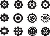 No People,Wheel,Bicycle Gear,Illustration,Gearshift,Gear,Bicycle,2015,Circle,Vector