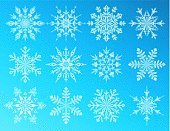 Snowflake,Christmas,Christmas Decoration,Ice,Ice Crystal,Ornate,Silhouette,Decor,Abstract,Cool,Design Element,Snow,Blue,Design,Frost,Holiday,Winter,Variation,Group of Objects,Cold - Termperature,Clip Art,Celebration,Nature,Season,Weather,New Year's Day,December