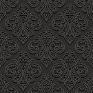 Abstract,Elegance,Retro Styled,No People,Flower,Foliage,Old-fashioned,Ornate,Paper,Indigenous Culture,Illustration,Shadow,Classic,Fashion,2015,Cultures,Seamless Pattern,Decoration,Backgrounds,Blossom,Arts Culture and Entertainment,Vector,Design,Textured,Pattern,Floral Pattern,Black Color
