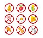 Egg,Food and Drink,Forbidden,Food,Danger,Symbol,Freedom,Dairy Product,Meat,Seafood,Healthcare And Medicine,Egg,Cheese,Design,Label,Warning Sign,Crustacean,Prawn,Cereal Plant,Fruit,Pollen,Nut - Food,Strawberry,Corn - Crop,Wheat,Legume Family,Healthy Lifestyle,Ingredient,Sugar,Computer Icon,Allergy,Peanut - Food,Badge,Illustration,Flat,Vegetarian Food,Wholegrain,Dieting,Prejudice,Healthy Eating,Vector,Merchandise,Single Word No,Collection,Corn,Facial Expression,Nutrition Label,Lactose Fermentation,Symptom,added,70053,2015,Gluten,Celiac,Icon Set,60527,70054,70061,Shrimp - Seafood