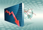 Graph,Chart,Stock Market,Finance,Three-dimensional Shape,Globe - Man Made Object,Loss,Diagram,Small Business,Deterioration,Business,Arrow Symbol,Surveillance,Falling,Data,Sphere,Investment,Exchange Rate,USA,Global Finance,Earth,Concepts,Loan,Banking,Ideas,Business,Illustrations And Vector Art,Economic Depression,Vector Backgrounds,Business Abstract,The Americas