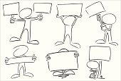 Cartoon,Animated Cartoon,Sketch,Characters,Sign,Caricature,Holding,Business,Currency,Pencil,Design,Billboard,Vector,Blank Expression,Ink,Ilustration,Art,free hand,The Human Body,Shape,Circle,Sheet,Advertisement,Picking Up,Placard,Tracing,Description,Clip Art,Gesturing,Coat Of Arms,Label,Black And White,Announcement Message,Supporting,no face,Carrying