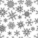 Computer Graphics,Decor,Simplicity,Symbol,Christmas,Shape,Black Color,White Color,Pattern,Winter,Snow,Snowflake,Greeting,Straight,Computer Graphic,Cut Out,Art And Craft,Art,Christmas Ornament,Abstract,Illustration,Celebration,New Year,Sketch,Christmas Decoration,No People,Vector,Collection,Geometric Shape,Retro Styled,Print,Sparse,White Background,Holiday - Event,2015,Design Element,Seamless Pattern,Fashionable,268399