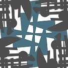Chaos,Eternity,Blue,Gray,Pattern,Paper,Backgrounds,Wrapping Paper,Ornate,Abstract,Illustration,No People,Vector,Backdrop,2015,Clip Art,Seamless Pattern