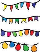 Vertical,Celebration,Beauty,Traditional Festival,Paper,Illustration,Birthday,2015,Bright,Happiness,Balloon,Decoration,Flag,Fun,Vector,Bright,Party - Social Event,Multi Colored,White Color
