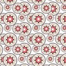 Circle,Pattern,Flower,Decoration,Backgrounds,Repetition,Abstract,Illustration,No People,Vector,2015