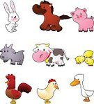 Livestock,Rabbit - Animal,Cartoon,Cow,Animal,Pig,Cute,Goose,Chicken - Bird,Sheep,Horse,Young Bird,Piglet,Baby Chicken,Vector,Rooster,Pets,Animal Themes,Ilustration,Symbol,Cattle,Clip Art,Set,Characters,Mammal,Domestic Cattle,Hoof,Multi Colored,Fun,Baby Farm Animal Decorations,Animal Images,Wildlife,Isolated On White,animal world,Farm Toy Animals,Images Of Animals,Toy Farm Animal Set,Cartoon Animals,Farm Animal Themed,About Animals,Farm Animal Toy Set,Far Animal Party Decoration,Miniature Farm Animal,Farm,Animals In The Wild,Animal Planet,Animal Farm