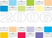 Calendar,Organization,Planning,Business,Design Professional,Greeting Card,Monthly,March,Week,Routine,Personal Organizer,September,Colors,Black Color,Multi Colored,Scale,customizable,May,November,July,Date,Illustrations And Vector Art,June,August,October,December,April,February,January,Next,2006,Vector