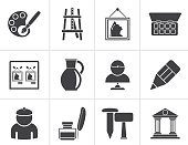 Computer Graphics,People,Built Structure,Symbol,Sign,City,Creativity,Growth,Hammer,Architecture,Industry,House,Easel,Paint,Pottery,Sculpture,Pencil,Pen,Ink,Painting,Painter - Artist,Internet,Statue,Museum,Silhouette,Computer Icon,Palette,Computer Graphic,Adult,Art Museum,Menu,Fine Art Painting,Art And Craft,Art,Lighting Equipment,Chisel,Exhibition,Toolbox,Watercolor Painting,Tempera Painting,Illustration,Oil Paint,Painted Image,Women,Artist,Vector,Wallpaper Brush,Web Page,Single Object,2015,81352,Icon Set,60595,Business Finance and Industry