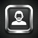 Bright,Computer Graphics,People,Symbol,Square,Human Body Part,Human Face,Facial Hair,Beard,Human Hair,Design,Black Color,Gray,Bright,Dark,Square Shape,Pattern,Metal,Silver - Metal,At The Edge Of,Reflection,One Person,Computer Icon,Computer Graphic,Adult,Young Adult,Push Button,Frame,Silver Colored,Illustration,Metallic,Shade,Men,One Young Man Only,Only Men,One Man Only,Portrait,Vector,Unrecognizable Person,Vibrant Color,Brightly Lit,Black Background,Adults Only,Perforated,Headshot,2015,Design Element,Icon Set,268399,60890