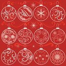 Christmas,Christmas Ornament,Vector,Christmas Decoration,Snowflake,Decoration,Snow,Winter,Backgrounds,Floral Pattern,Flower,Single Flower,Retro Revival,Swirl,Ornate,Scroll Shape,Red,Frame,Design,Design Element,Fashion,Ilustration,Abstract,Computer Graphic,Leaf,White,Ice,Drawing - Art Product,Decor,Berry Fruit,Clip Art,Style,Group of Objects,Wave Pattern,Variation,New Year's Eve,New Year's Day