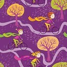 Child,Adult,Ridding,Defoliation,tenagers,Childhood,Females,Women,Computer Graphics,Girls,Characters,Outdoors,Wind,Healthy Lifestyle,Cartoon,Teenager,Illustration,Nature,People,Leaf,Cycling,2015,Sport,Computer Graphic,Aubusson,Pattern,Autumn,Floral Pattern,Travel,Decoration,Road,Forest,Hat,Branch,Backgrounds,Public Park,Dark,Formal Garden,Tree,Decor,Vector,Racing Bicycle,Design,Purple,Scarf
